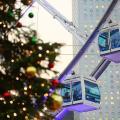 聖誕燈飾點綴!香港摩天輪冬日樂園