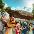 迪士尼全新市集開幕!攤位遊戲/獨家精品/史迪仔/獅子王見面