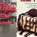【中環美食】Hard Rock Café優惠 半價歎Oreo曲奇芝士蛋糕!