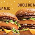 麥當勞雙層巨無霸/脆薯皇/熱焦糖新地回歸 加推芝味藍莓批+Big Mac珍藏版套裝