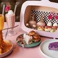 【尖沙咀美食】尖沙咀少女粉紅系Cafe 龍蝦懸浮意粉/抹茶梳乎厘奄列!