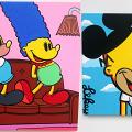 【尖沙咀好去處】尖沙咀免費睇街頭藝術家Mr. Likey展 經典卡通角色搞鬼大改造