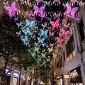 【聖誕好去處2020】利東街全球首個AI蝴蝶光影藝術裝置!350隻幻彩玻璃蝴蝶飛舞/12米高聖誕樹