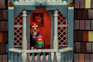 3月初香港首展!50萬塊LEGO顆粒《美女與野獸》城堡