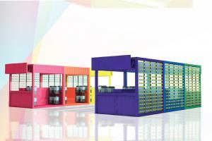 過千種顏色復活蛋牆!PMQ全港首個迷你貨櫃市集