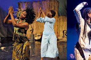 鼓樂舞蹈 Vs 非洲豎琴女詩人