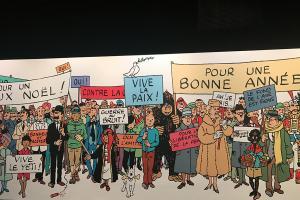鰂魚涌免費睇《丁丁歷險記》展覽 8大漫畫故事+模型場景!