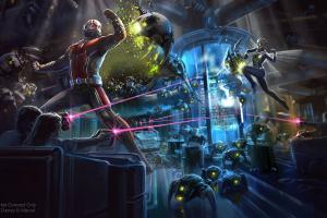 迪士尼擴建Marvel主題遊樂設施!加入蟻俠/黃蜂女超級英雄