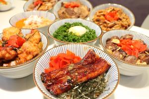 將軍澳新開日式快餐店 試勻鰻魚飯/燒豚丼/爆蔥溫泉蛋丼