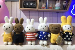 全人手鉤織Miffy公仔!香港Homeless十二款Miffy夜燈/廚具/精品