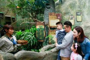 【香港仔好去處】海洋公園歷險課程 參觀海象屋企