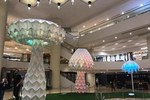 【金鐘好去處】巨型彩色蘑菇燈登陸金鐘!免費睇世