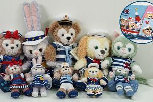 【迪士尼樂園】香港迪士尼樂園14周年航海主題限定新品 水手裝造型Duffy新登場