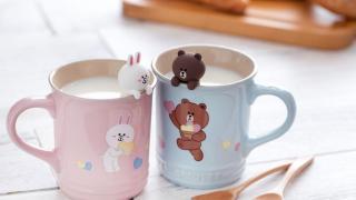 Le Creuset x Line Friends別注版陶瓷餐具 率先睇3大粉色系新品