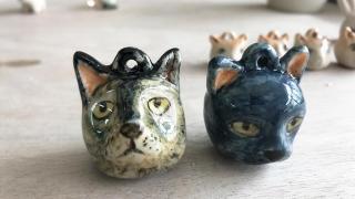 新蒲崗2小時陶藝體驗 親手整趣怪陶瓷動物飾品!