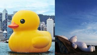 【中環好去處】巨鴨之父再臨香港 中環免費睇全新作品展