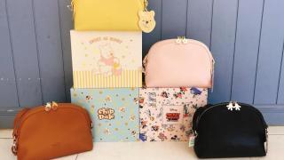 迪士尼粉色系斜揹袋+背包新登場!小熊維尼/Chip'n'Dale/愛麗絲/唐老鴨