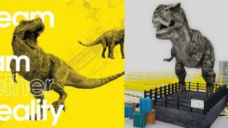 【 元朗好去處 】7月恐龍實驗室香港站 免費睇30尺長暴龍+9大恐龍模型/化石