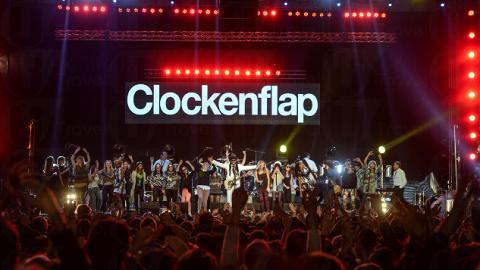 Clockenflap音樂及藝術節2014