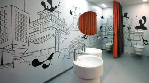 香港藝術中心三十週年設計師廁所系列