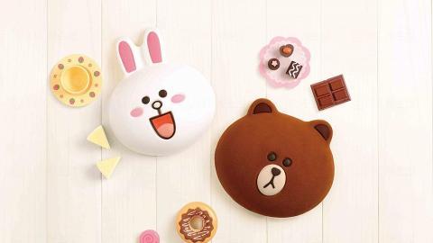 唔捨得切 ! 3D熊大兔兔造型蛋糕 美心西餅有售