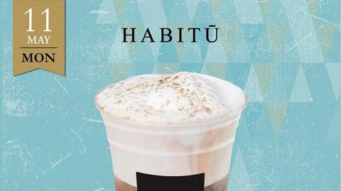 一日限定!Caffe HABITU Feathery Iced Cappuccino買一送一
