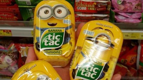 黃色突襲!Minions tic tac糖再登陸惠康