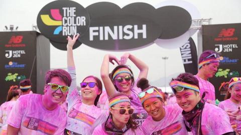 延至2016年舉行! The Color Run Hong Kong  5公里彩跑派對