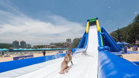 愉景灣11米充氣滑梯  免費任瀡