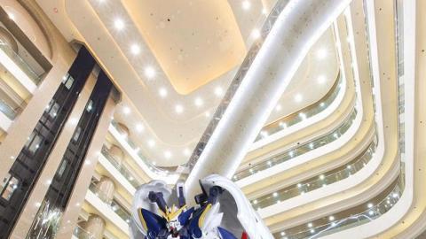 全新巨型高達模型 8月時代廣場有得睇
