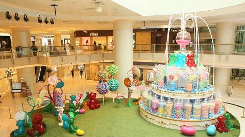 超夢幻! Elements巨型糖果噴泉