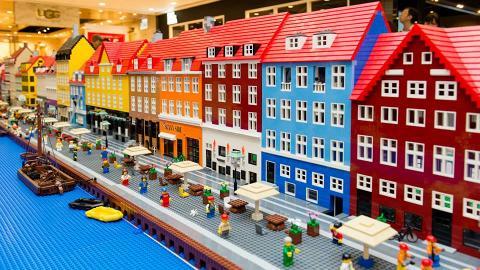 尖沙咀有Lego展!80萬件積木砌成丹麥小鎮