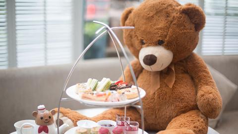 逸東酒店全新「Jordan the Bear滋味遊」英式下午茶