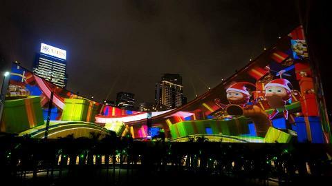 聖誕版3D光雕匯演12月初上演 文化中心鐘樓外牆化身故事書
