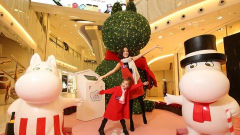 MOKO聖誕姆明谷  Pop-up Store首賣姆明小物