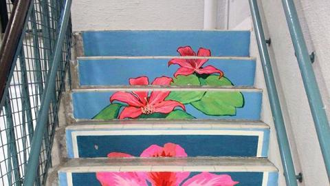 25道樓梯畫現PMQ!Hong Kong on Steps