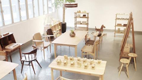 Oak Village X COME IN'「天然木の空間」展示會