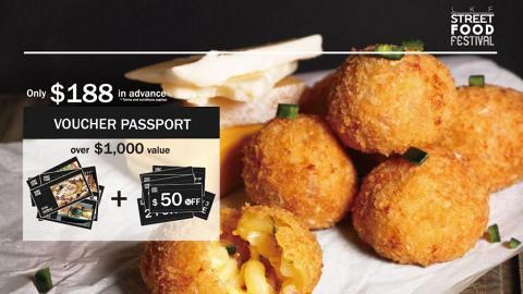 蘭桂坊Street Food Festival  美食車擺檔賣街頭小食
