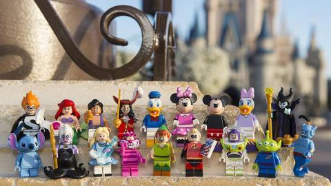香港5月開售!LEGO Disney Mini-figures 系列