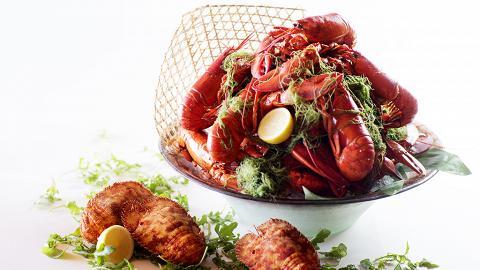 生日免費食!城景國際4月「蝦哈家族.海鮮自助晚餐」