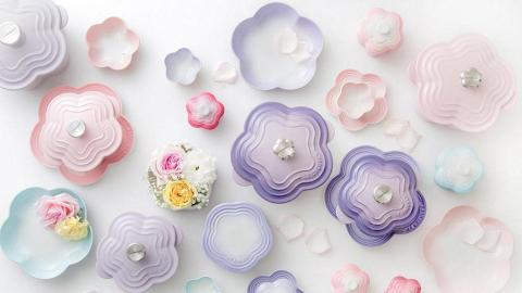 崇光周年慶率先推出!LE CREUSET全新粉紫色心型鍋