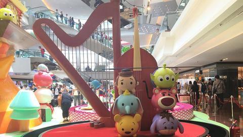 又一城Tsum Tsum展 必影萌爆Tsum Tsum壽司、街機免費玩