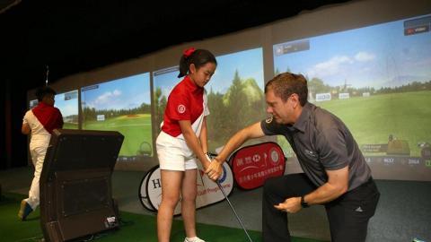 免費學打Golf!HSBC Hour 高爾夫球體驗活動
