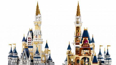 自己動手砌!LEGO迪士尼睡公主城堡
