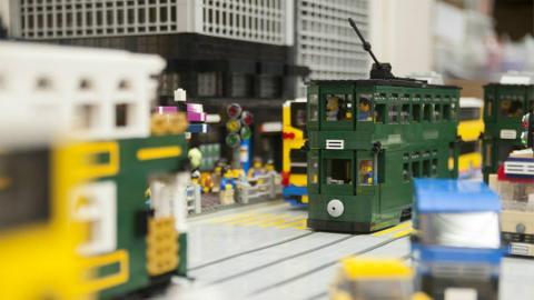 砌出香港街景!100萬粒LEGO砌到入會展