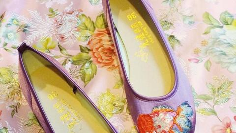 復古風女生必備!花曼、刁蘭同款人手製繡花鞋