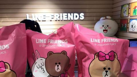 限量發售LINE FRIENDS福袋 熊大、CONY現身新店