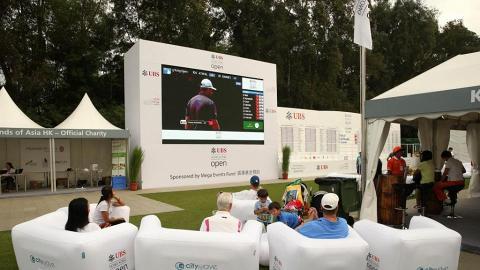 草地上野餐聽Live!瑞銀高爾夫球公開賽12月揭幕