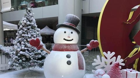 擲雪球、行攤檔!糖廠街白色聖誕市集開鑼