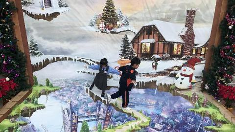 燈飾以外拍照好去處!屋邨4大聖誕主題立體畫